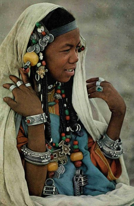 Black native in Afghanistan.